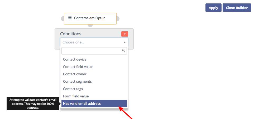 Validação de E-mails em Campanhas no Mautic